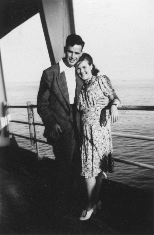 Erwin Rennert mit seiner Frau Ruth