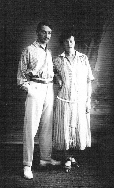 Franz und Lily Elsner in den 1920ern