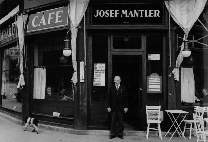 Mantler Cafe judenfrei