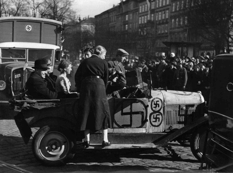 begeisterte Nazis